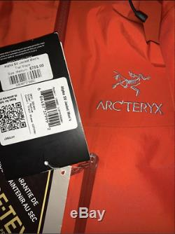 Nouveau 2020 M Arc'teryx Alpha Sv Veste Trail Blaze Medium Gore-tex Pro Hardshell