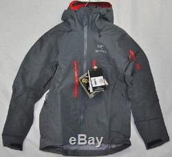 Nouveau Arcteryx Alpha Sv Jacket S-xl Manteau Pilote Homme 3 Couches Goretex Pro Fast Ship