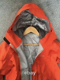 Nouveau Homme Arcteryx Alpha Fl Gore-tex Imperméable Shell Jacket Blaze Red Medium M