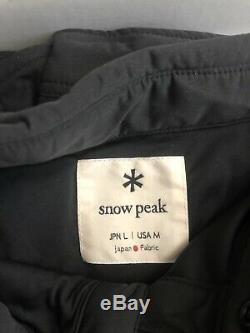 Nouveau Snow Peak Flexible Isolé Veste Polartec Shirt Alpha Gris Grande Taille