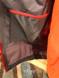 Nwt $ 750 Veste Arcteryx Alpha Sv Pour Homme, Taille Moyenne, Orange