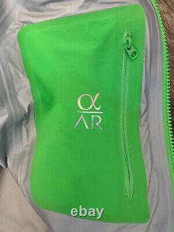 Nwt Arc'teryx Alpha Ar Goretex Pro Jacket Green Womens Taille Moyenne 600 $