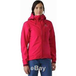 Nwt Arc'teryx Alpha Jacket Medium Radicchio Sl Femmes