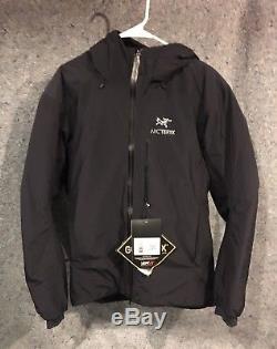 Nwt Arcteryx Alpha Is Homme Moyenne Noire 900 $