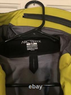 Nwt New Arc'teryx Alpha Sv Zevan Green Men's Small S Goretex Pro Authentic