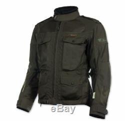 Olympia Mens Alpha Jacket, Loden, Medium 243-414003 + Gants Med Bikebandit