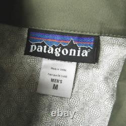 Patagonia 2007 Mars Spraymaster Jacket 19037 Men's M Alpha Green Shell Parka