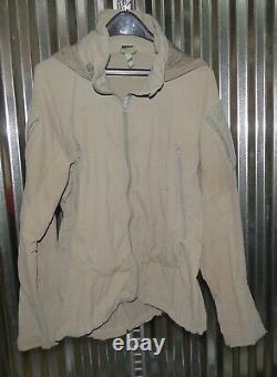Patagonia Alpha Grey Moyen Régulier Soft Shell Niveau 5 Veste De Combat L5 Pcu Utilisé