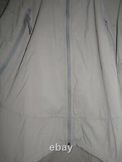Patagonia Alpha Grey Moyenne Régulière Soft Shell Niveau 5 Veste De Combat L5 Pcu