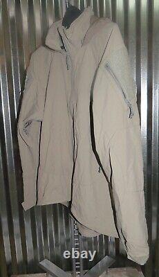 Patagonia Alpha Grey Moyenne Régulière Soft Shell Niveau 5 Veste De Combat L5 Pcu G-4