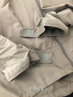 Patagonia Alpha Gris Medium Regular Soft Shell Niveau 5 Veste De Combat L5 Ucp