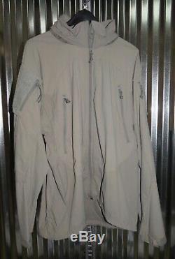 Patagonia Alpha Gris Moyen À Long Soft Shell Niveau 5 Veste Combat Coat L5 ML Ucp