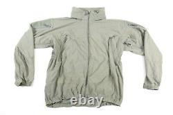 Patagonia Alpha Gris Moyen Reg Soft Shell Niveau 5 Veste Combat Coat L5 Ucp