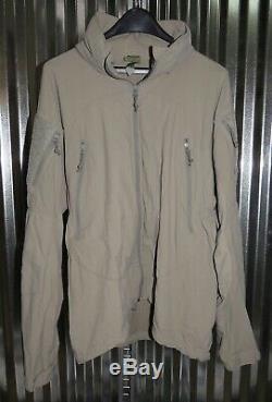 Patagonia Alpha Gris Moyen Régulier M R Soft Shell Niveau 5 Combat Jacket L5 Ucp
