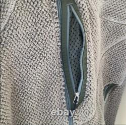 Patagonia Mars R2 Grid Fleece Jacket Size Medium Alpha Green Polartec Seal Cag