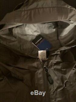 Patagonia Military Publié En 2006 Rain Shadow Jacket Alpha Green Medium Nouveau