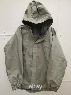 Patagonia Pcu L6 Niveau6 Alpha Gray Wet Weather Goretex Jacket Medium #4c4
