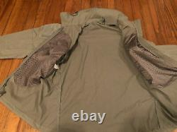 Patagonia Ucp Niveau 5 Alpha Gris Medium Regular Soft Shell Combat Jacket L5