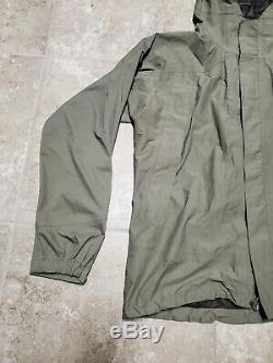 Patagonia Ucp Niveau 6 Gore-tex Alpha Vert Veste Shell Moyen Excellent Régulier