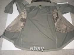 Patagonie Alpha Grey Medium Regular Soft Shell Niveau 5 Veste De Combat L5 Pcu