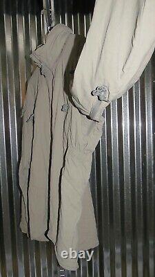 Patagonie Alpha Grey Medium Regular Soft Shell Niveau 5 Veste De Combat L5 Pcu P-3
