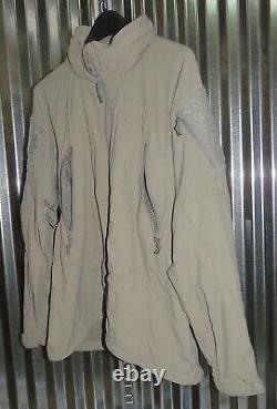 Patagonie Alpha Grey Medium Regular Soft Shell Niveau 5 Veste De Combat L5 Pcu P-5