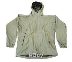Patagonie Niveau 6 Alpha Vert Moyen Pluie Combat Jacket L6 Ucp Hard Shell