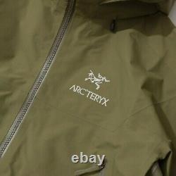 Prix public De 600 Arc'teryx Beta Ar Gore-tex Pro Taille Moyenne Imperméable Pluie Vert Alpha