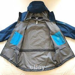 Prix public De 630 Arc'teryx Alpha Sv Goretex Jacket Pro Mens Medium Bleu Beta Theta Ar Lt