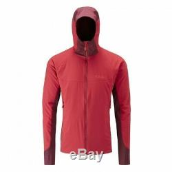 Rab Alpha Flux Veste Cayenne Rouge Taille Moyenne Rrp £ 140