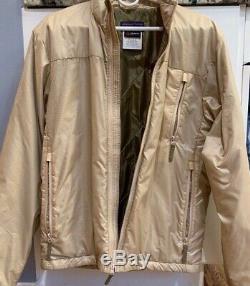 Rare Patagonie Niveau Polartec Militaire Publié Jacket Mens Medium Alpha Tan