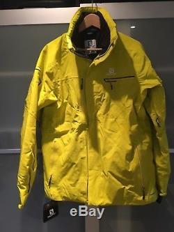 Salomon Brilliant Ski Jacket Alpha Jaune Taille Medium (m)