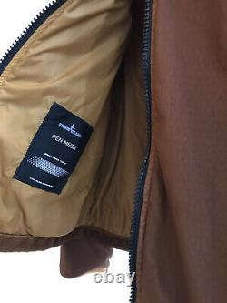 Stone Island Shadow Project Ss21 Ren Mesh Polartec Alpha Liner Jacket Taille M