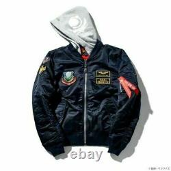 Strict-g Alpha Industries Ma-1 Natus Mobile Suit Gundam Seed Kira Yamato Taille M