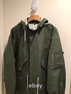 T.n$-o. 545 $ Imperméables De Stutterheim X Alpha Industries M-65 Fishtail Parka Jacket M