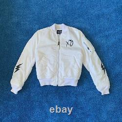 The Weeknd Alpha Industries Rare Starboy Bomber Jacket Taille M