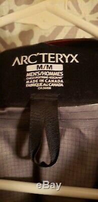 Tn-o Arc'teryx Alpha Sv Veste Homme Taille Moyenne Pilote Arcteryx Goretex Pro