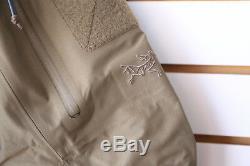Tn-o Arc'teryx Leaf Alpha Gen 2 Couleurs Veste Crocodile Fabriqué Au Canada Militaire