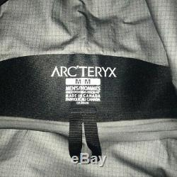 Tn-o Arcteryx Mens Alpha Sv'19 Med Noir Gore-tex Shell Pleine Zip Veste De Ski Neige