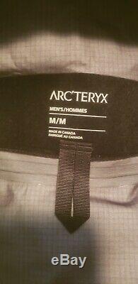 Tout Neuf! Arc'teryx Alpha Sv Homme Utopia Vert Veste 18082 Taille Med Avec Des Étiquettes