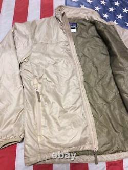 Tres Rare! Patagonie Mars Niveau 3a Alpha Polartec Jacket / Sand Mens M Euc