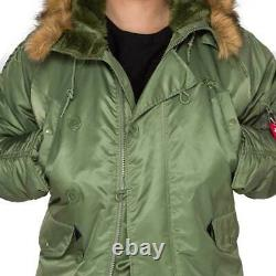 Us Air Force Alpha Industries Type N-3b (n) Parka Extreme Cold M New With Tags