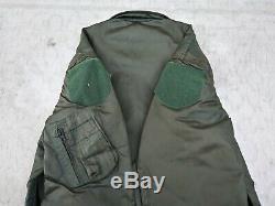 Us Air Force Cwu-36 / P Polyamide Flight Jacket Taille Moyenne 2001 Mfg Alpha Industries