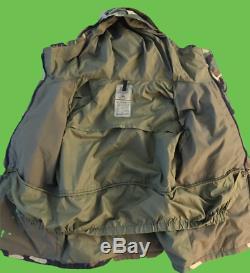 Usgi Alpha Industries Us Army Temps Froid Parka Camouflage Veste Manteau Sz M