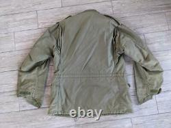 Usmc 1970s Vintage M65 Vietnam Alpha Industries Veste De Campagne Regulaire Moyen