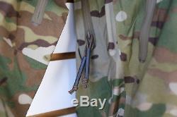 Veste Alpha Leaf Lt Gen 2 Multicam Arc'teryx Des Tn-o. Fabriqué Au Canada Militaire