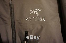 Veste Arcteryx Alpha Ar Homme Pilote Moyenne Goretex Pro Neuf Avec Étiquettes
