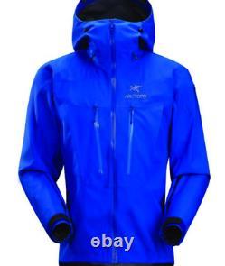 Veste Arcteryx Alpha Sv Alpine Gore-tex Pro Fabriquée Au Canada En M Taille Homme Bleu