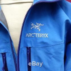 Veste Arcteryx Alpha Sv Bleu Moyen
