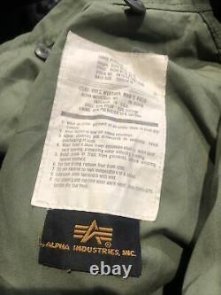 Veste De Campagne De L'armée M65 De L'alpha Industries